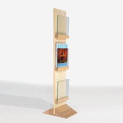 Front Freestanding FRDT 2563 | Brochure / Magazine display stands | Karl Andersson