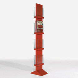 Front Freestanding FRDT 2594 | Brochure / Magazine display stands | Karl Andersson