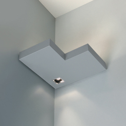 Onn-Corner Negative Indirect/Direct | Wall-mounted spotlights | Kreon