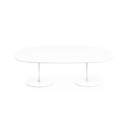 Dizzie | H 74 - Doppia base | Conference tables | Arper