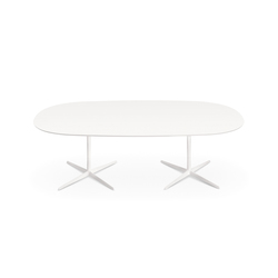 Eolo | Double base | Dining tables | Arper