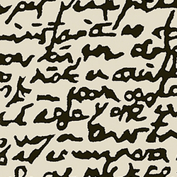 Black on white Manuscrit | Formatteppiche / Designerteppiche | Nanimarquina