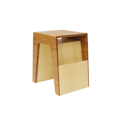 Hollow End Table | Porte-revues | Brave Space Design