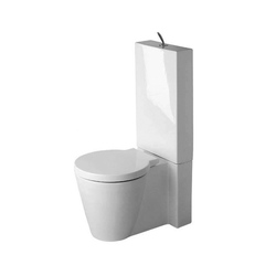 Starck 1 - Toilet, close-coupled | Toilets | DURAVIT