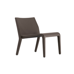 laleggera armchair leather 305_L | Loungesessel | Alias