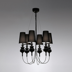 Josephine queen 6 Candelabro | General lighting | Metalarte