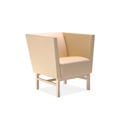 Minimal easy chair | Lounge chairs | Materia