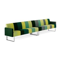 Monolite 6-seater sofa | Sofás lounge | Materia