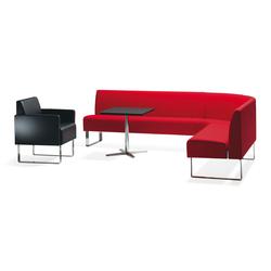 Monolite corner sofa | Sofás lounge | Materia
