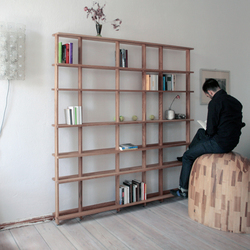 Supersystem 1 Wood | Shelving systems | Tom Kühne