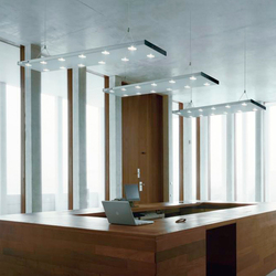 HYBRID LED Suspended Luminaire | Pendant strip lights | H. Waldmann