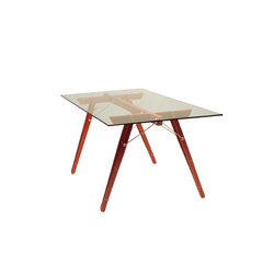 Flexus rectangular table | Tavoli da pranzo | Useche