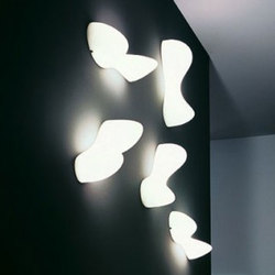 Blob S wall | Wall lights | Foscarini