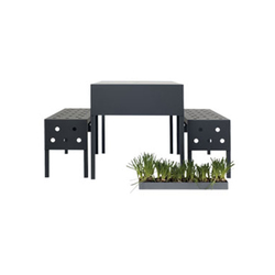 Bench Air Outdoor | Bancs de jardin | ASPLUND