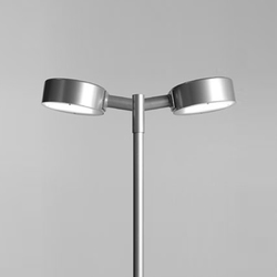 Tvåpuck pole fixture | Path lights | ZERO
