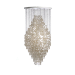 Fun Mother of Pearl 8DM | Hanging lamp | Suspended lights | Verpan