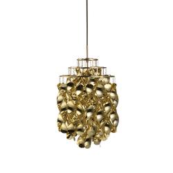 Spiral Mini Gold | Pendant | Suspensions | Verpan