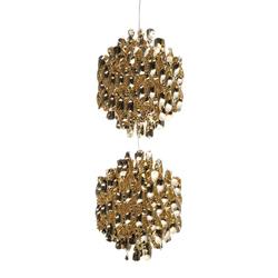 Spiral SP2 Gold | Hanging lamp | Suspensions | Verpan