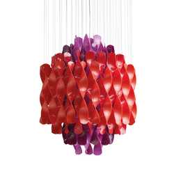Spiral SP1 Multicolor | Hanging lamp | Ceiling lights | Verpan