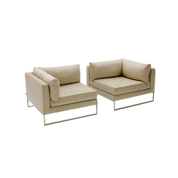 Stay corner module | Armchairs | Decameron Design