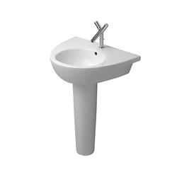 Starck 2 - Pedestal | Wash basins | DURAVIT