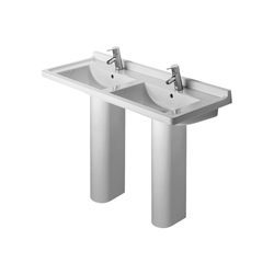 Starck 3 - Pedestal | Wash basins | DURAVIT