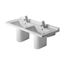 Starck 3 - Halbsäule | Wash basins | DURAVIT