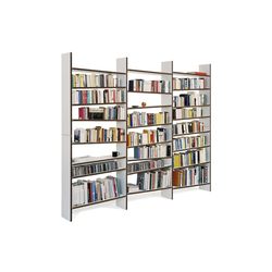 oblique book shelf | Shelving systems | maude