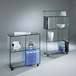 Bookline BL 22 FL k + BL 23 FL k | Display cabinets | Dreieck Design