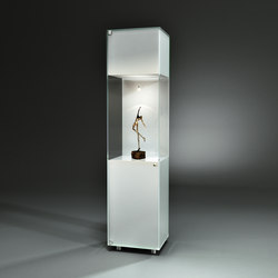 Solus Colorline IV CL2 Optiwhite pure white | Display cabinets | Dreieck Design