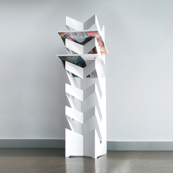 standing newspaper holder news | Magazine holders / racks | Radius Design