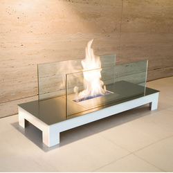 floor flame | Ventless ethanol fires | Radius Design