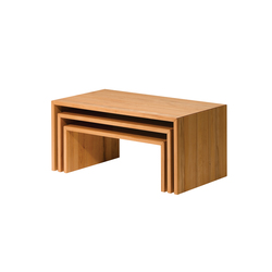 ponte kit de trois table basse | Tables basses | TEAM 7