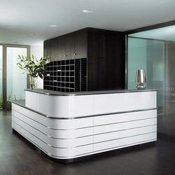 Classic Line Counter | Reception desks | Müller Möbelfabrikation