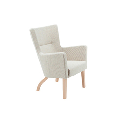 Solino easy chair low back | Lounge chairs | Swedese