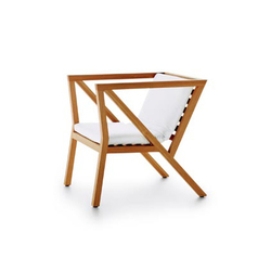 IVY LOUNGE CHAIR | Garden armchairs | cst-furniture.com