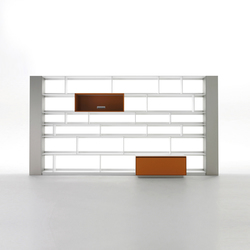 Flat.C | Shelving systems | B&B Italia
