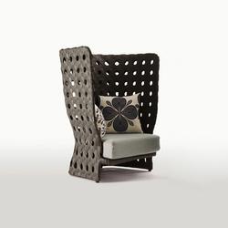 Canasta | Garden armchairs | B&B Italia