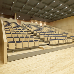 Tribunas telescópicas | Movable seating systems | FIGUERAS