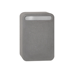 Concrete letterbox | Bucalettere | Serafini