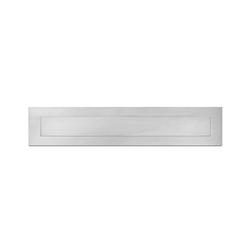 Stainless-steel letter slot | Mailboxes | Serafini