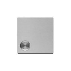 Doorbell panel | stainless steel | Timbres | Serafini