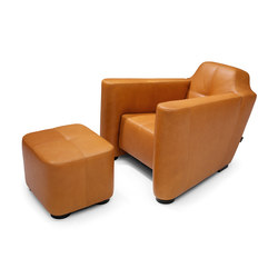 Alhambra armchair/footstool | Sillones lounge | Linteloo