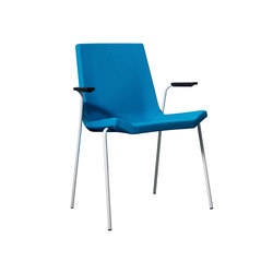 Happy stackable armchair | Chaises polyvalentes | Swedese