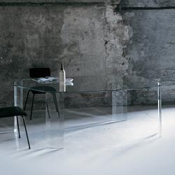Kooh-I-Noor table | Tavoli da pranzo | Glas Italia
