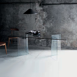 Lindos | Dining tables | Glas Italia