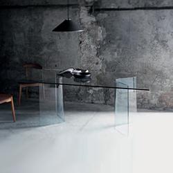 Lindos | Tables de repas | Glas Italia