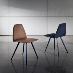 Sila Four Legs Cone Shaped | Sedie visitatori | Sovet