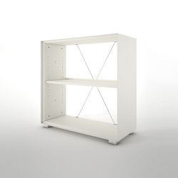 Primo Modular Elements | Bookcase unit | Office shelving systems | Dieffebi