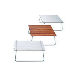 Clip low table | Tables basses de jardin | Bivaq